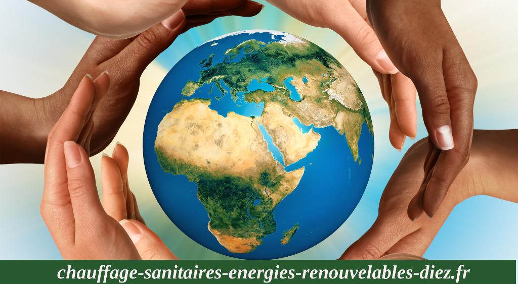 Chauffage sanitaires energies renouvelables diez